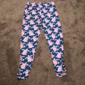 Simply Southern turtle leggings